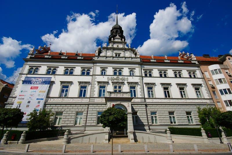 Narodni Dom Maribor, Eslovênia imagem de stock royalty free
