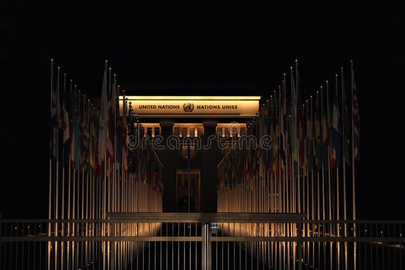 Narody Jednoczą obrazy stock