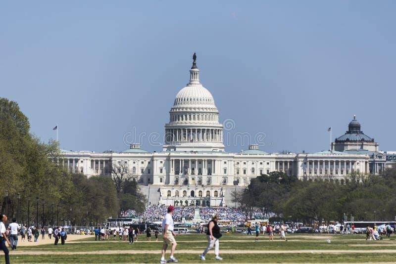 Narody Kapitałowi podczas Wymarzonej akt reformy zbierają fotografia stock