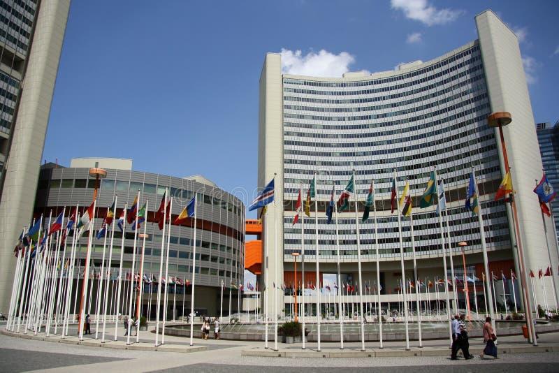 Narody Zjednoczone biura w Wiedeń fotografia stock