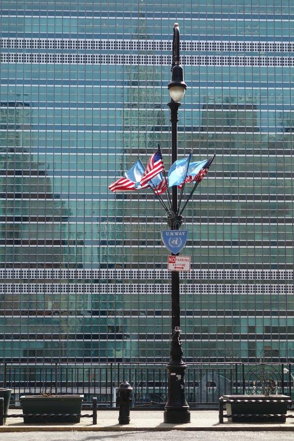 Narody Zjednoczone budynek obrazy stock