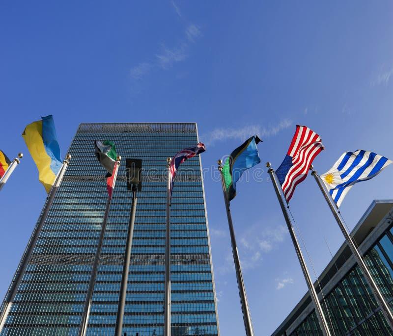 Narody Zjednoczone kwatery główne zdjęcia stock
