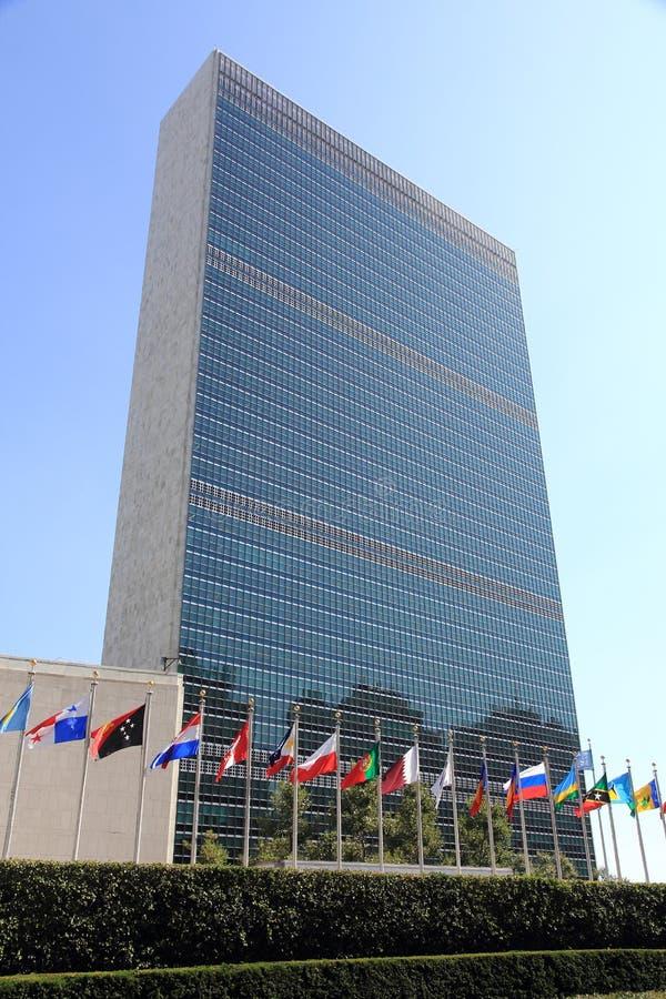 Narody Zjednoczone w Nowy Jork fotografia royalty free