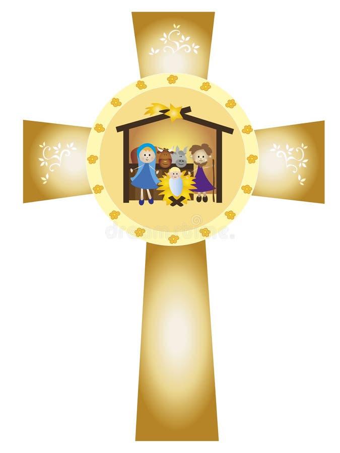 Narodzenie Jezusa royalty ilustracja