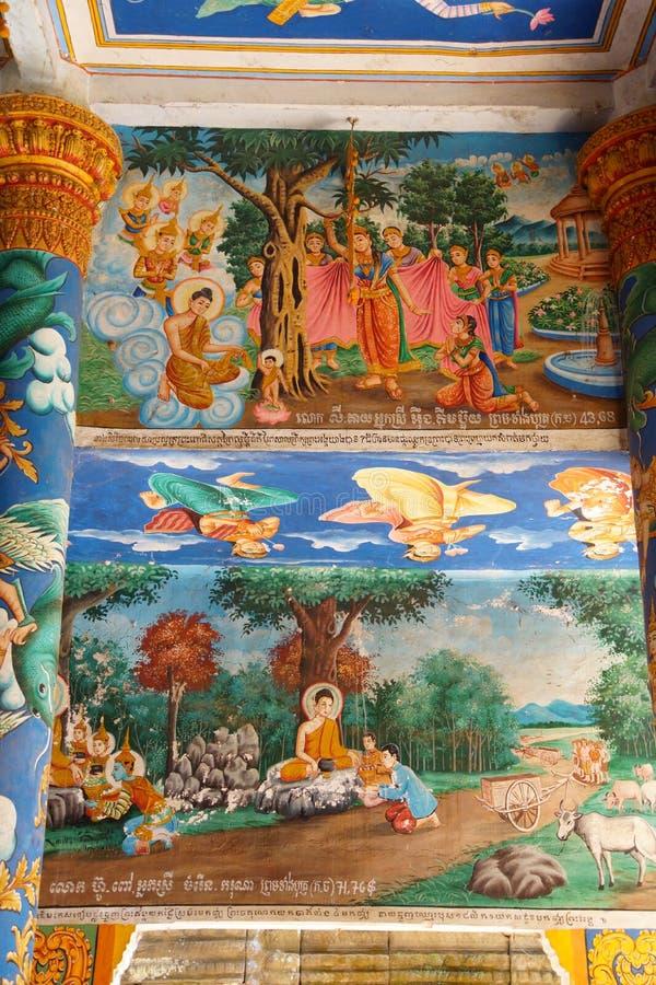 Narodziny Buddha obrazy royalty free