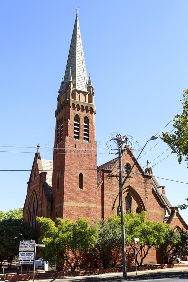 Download Narrandera St John Uniting Church Editorial Stock Image