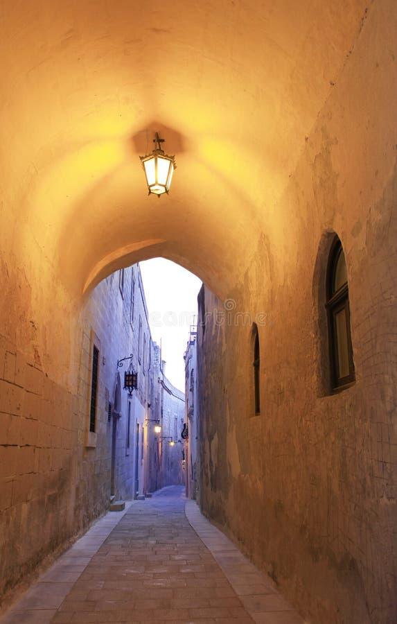 Narrow alley in Mdina