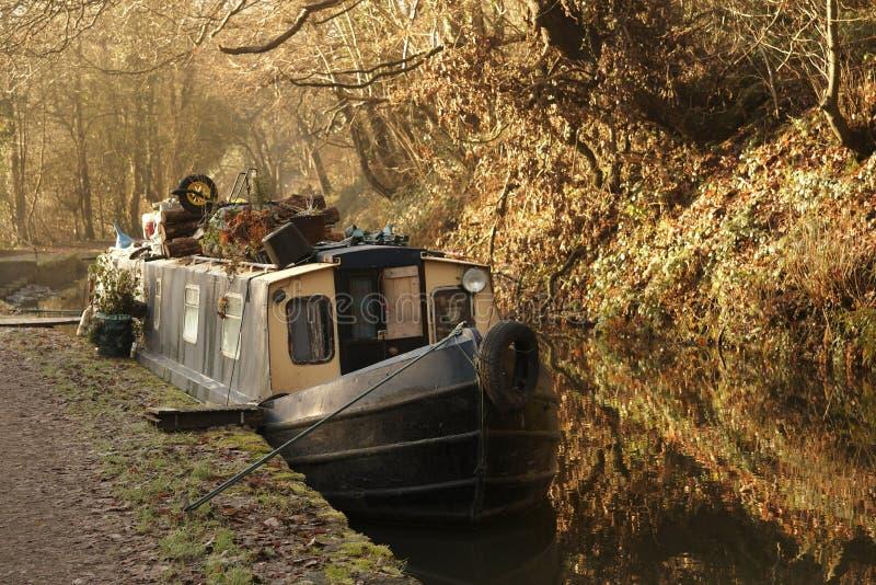 Narrow Boat Royalty Free Stock Images