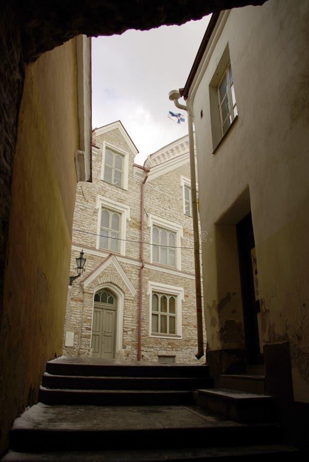 Download Narrow building walkway stock image. Image of passage - 4666213