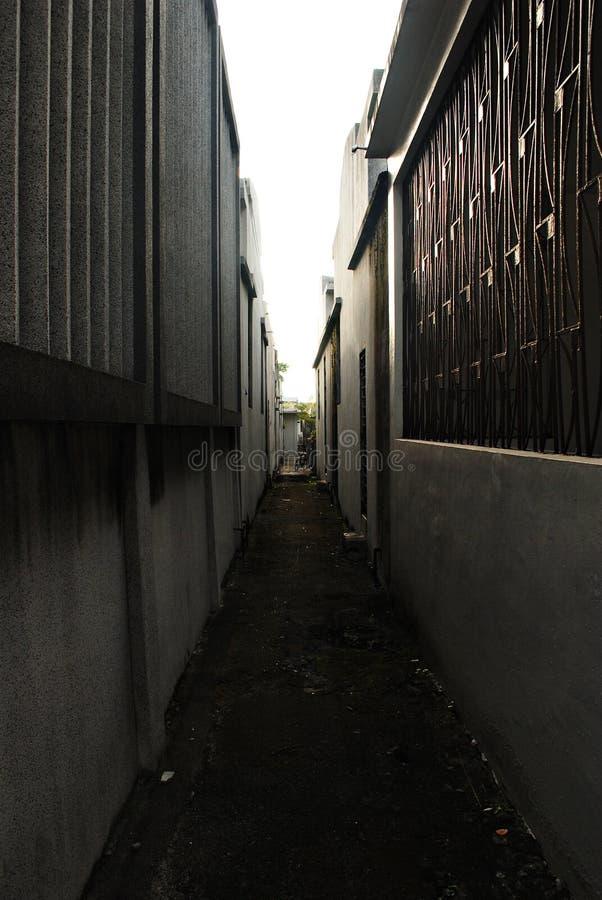 Narrow and Dark Alley