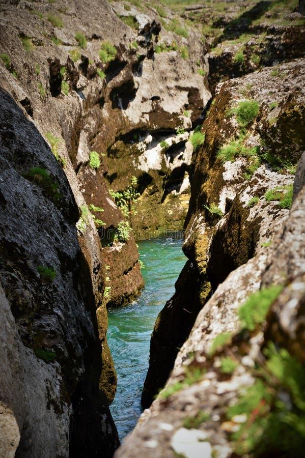 Narrow Canyon royalty free stock photo