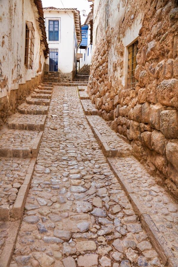 narrow gatan arkivfoton