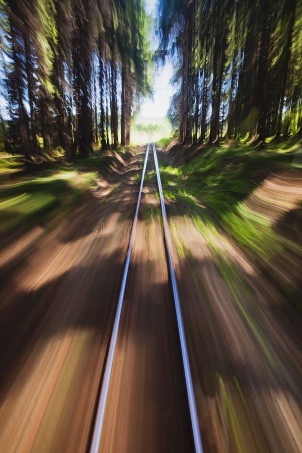 Free Narrow Gauge Railroad Track Stock Photos - 20404863