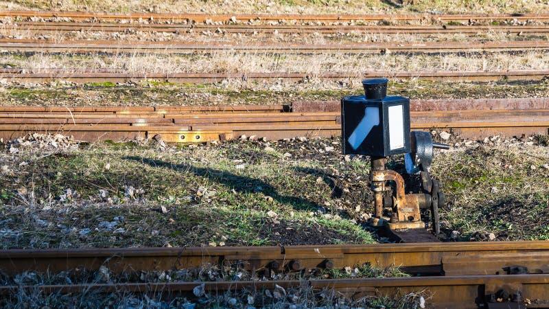 Narrow-gauge railway switch