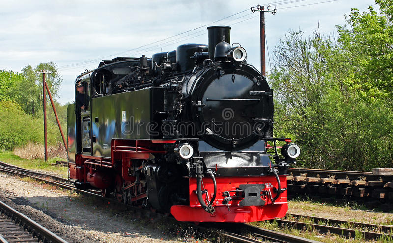 Narrow Gauge Steam Locomotive royalty free stock photography