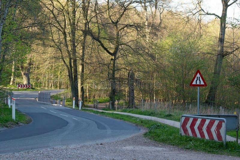 Narrow Passage ahead