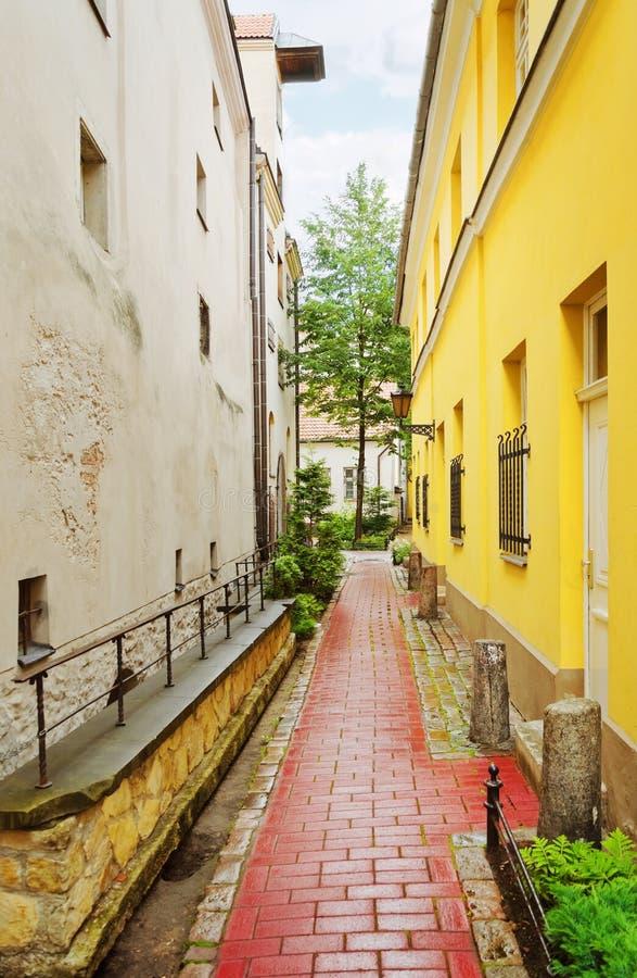 Download Narrow Riga street stock photo. Image of city, roadway - 26327822