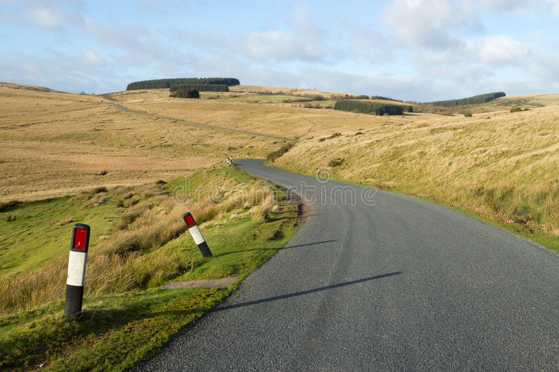 Download Narrow Rural Road B4519 On The Mynydd Epynt. Stock Photo - Image: 22402944