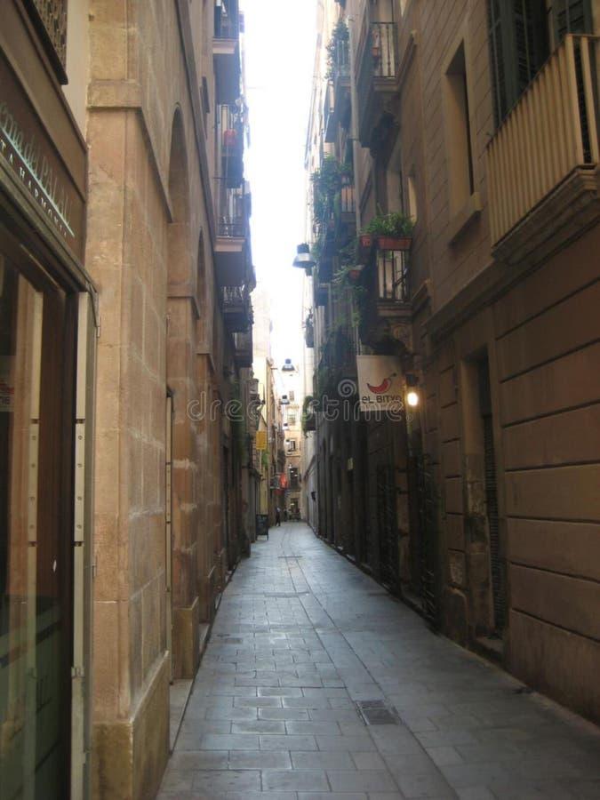 narrow-street royalty free stock photo