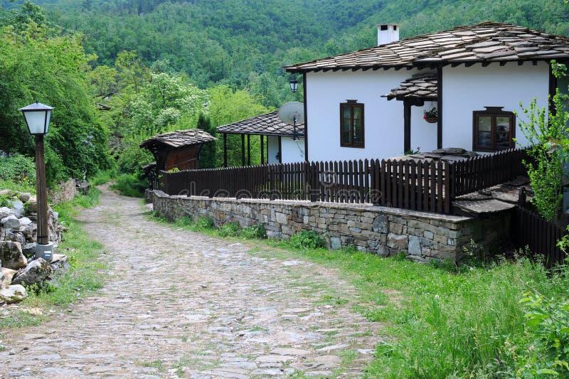 Narrow Street in Bozhentsi Village