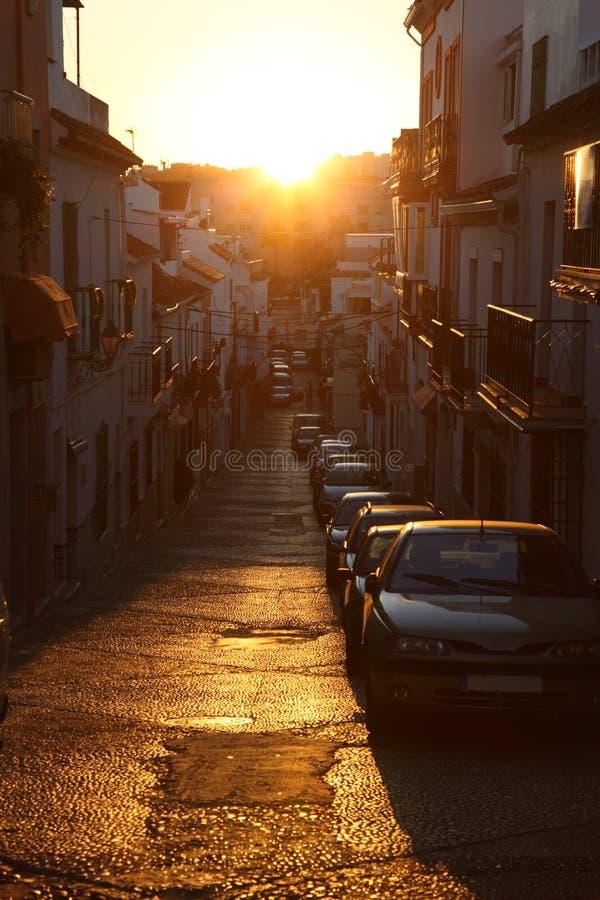 Download Narrow Street In Estepona, Spain Stock Image - Image: 29080967