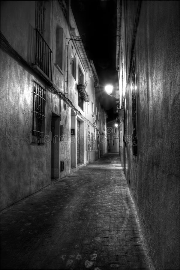 Download Narrow Street in Europe stock image. Image of spain, narrow - 11684321