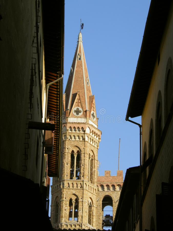 Download Narrow street in Florence stock photo. Image of medieval - 24048680