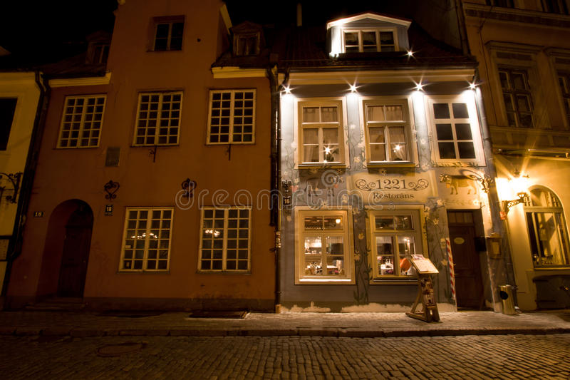 Download Narrow Street In The Old Town, Riga. Royalty Free Stock Images - Image: 24925969