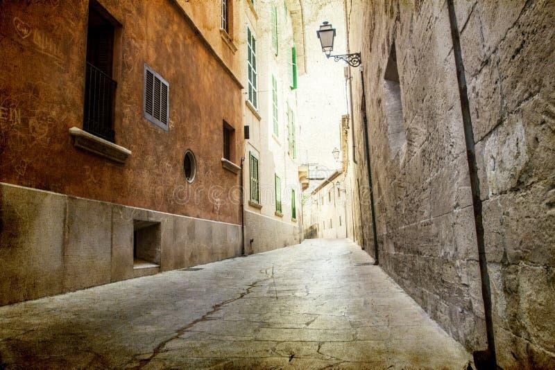 Download Narrow Street In Palma De Mallorca Stock Photo - Image: 43809814