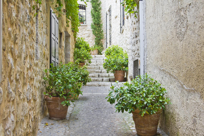 Download Narrow street in Provence stock photo. Image of lane - 26207734