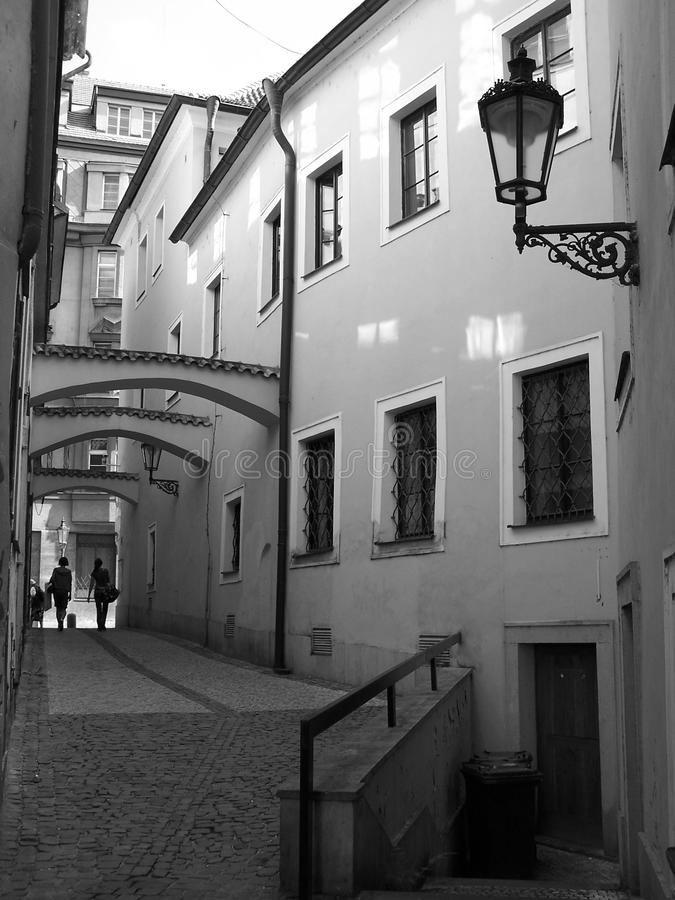 Download Narrow streets of Prague stock photo. Image of ghetto - 26341316