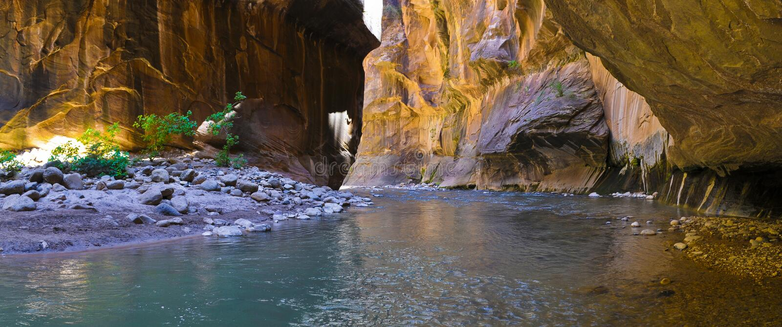 The Narrows Royalty Free Stock Images