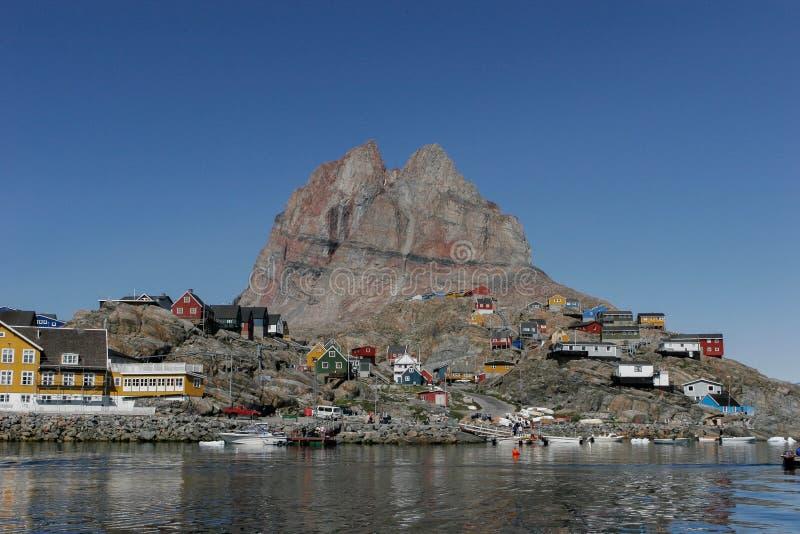 Narssarssuaq au Groenland photo libre de droits