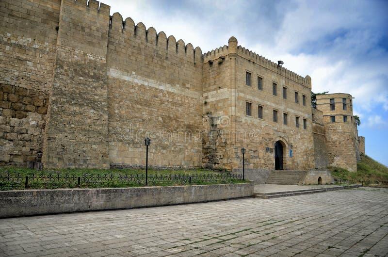 Naryn Kala Citadel Derbent Dagestan Rusland royalty-vrije stock afbeelding