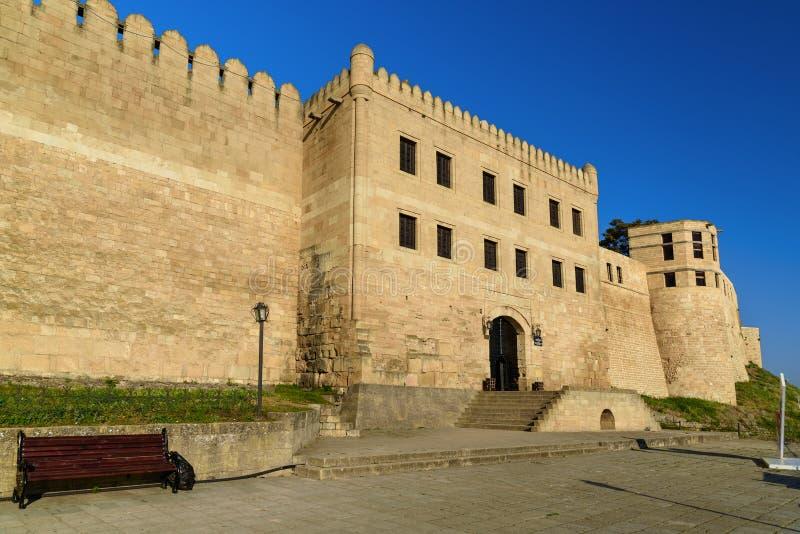 Naryn-Kala forteczna brama Khan ` s chancery w Derbent fotografia royalty free