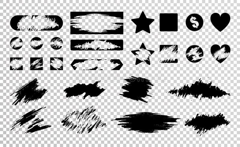 Narys karty set ilustracji