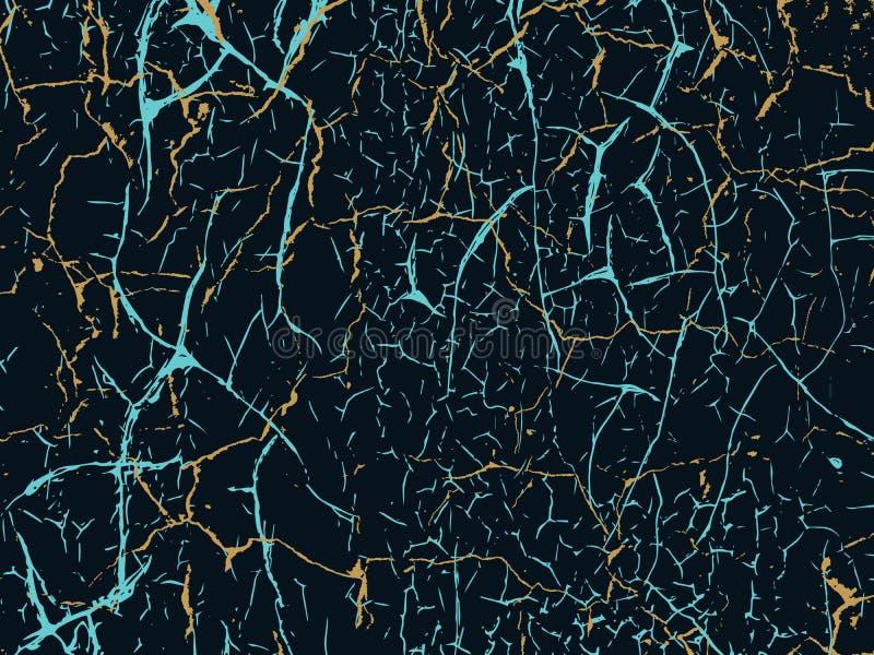 Narysu grunge miastowy tło Tekstura wektor Marbl tekstury d ilustracja wektor