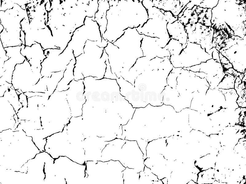 Narysu grunge miastowy tło Tekstura wektor Pył narzuta Dist ilustracja wektor