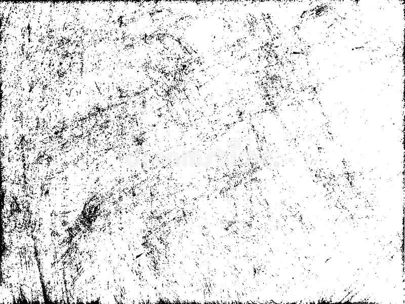 Narysu grunge miastowy tło Tekstura wektor Grunge skutek, royalty ilustracja