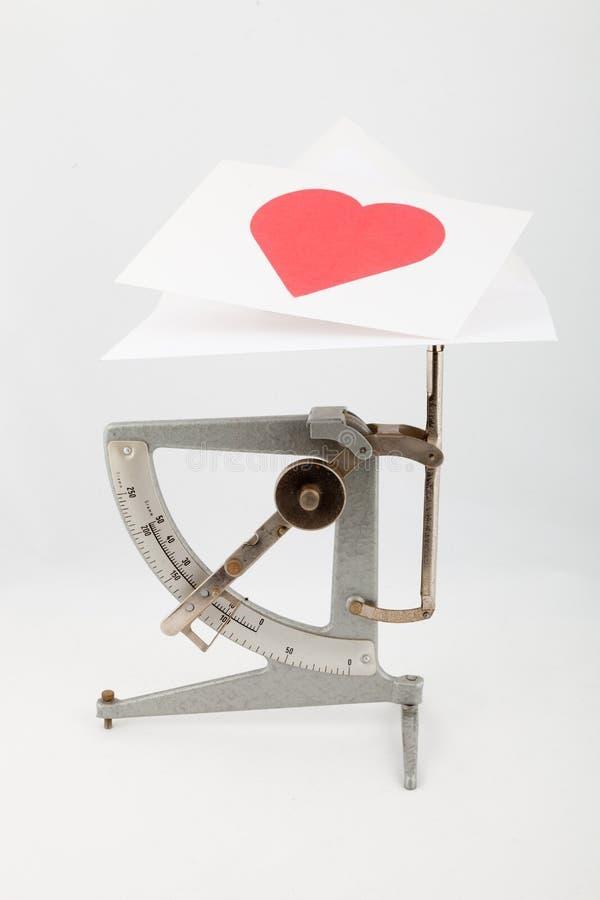 narządzania karciany valentine s obrazy stock