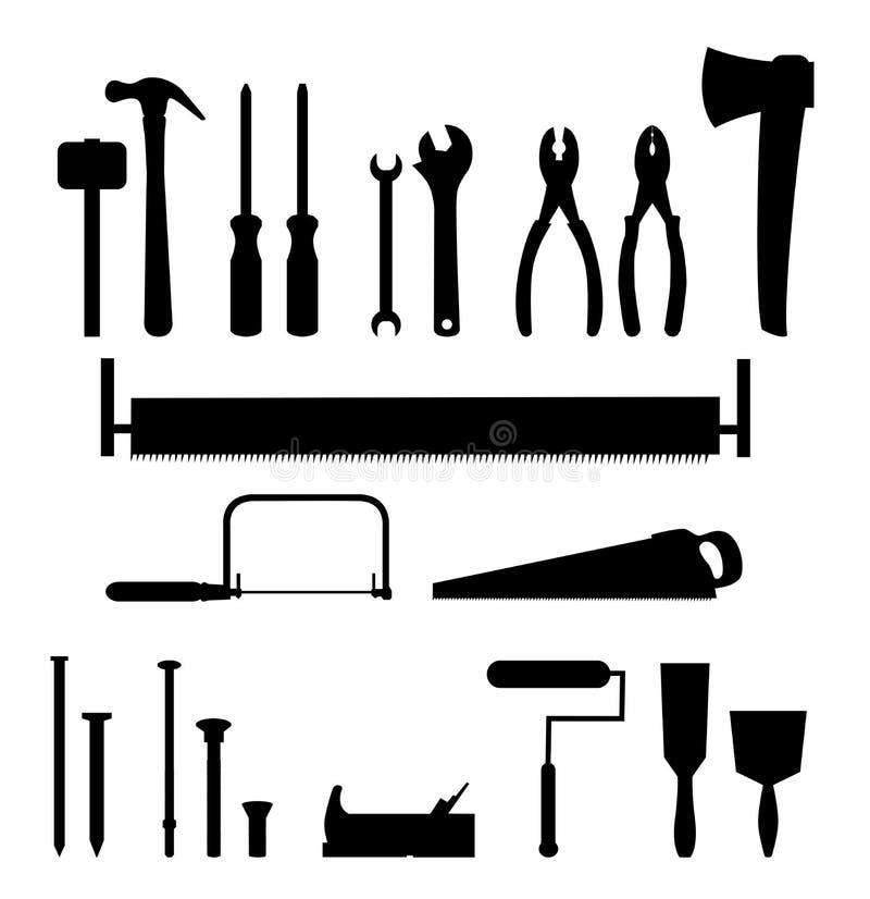 narzędzia royalty ilustracja