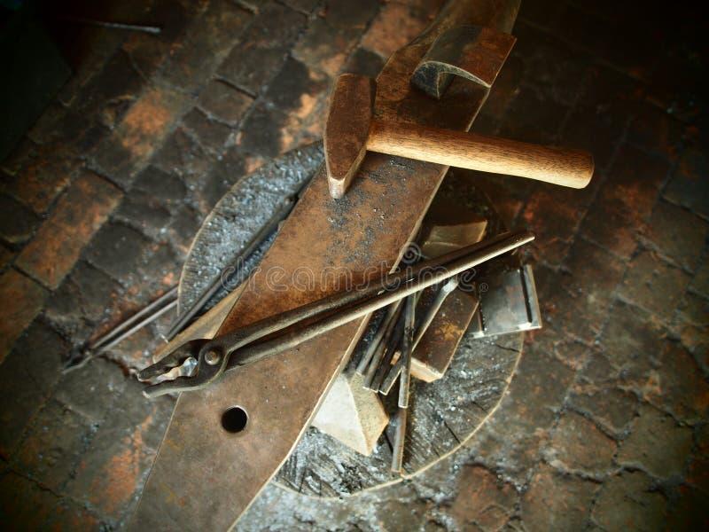 Narzędzia Blacksmith obrazy stock
