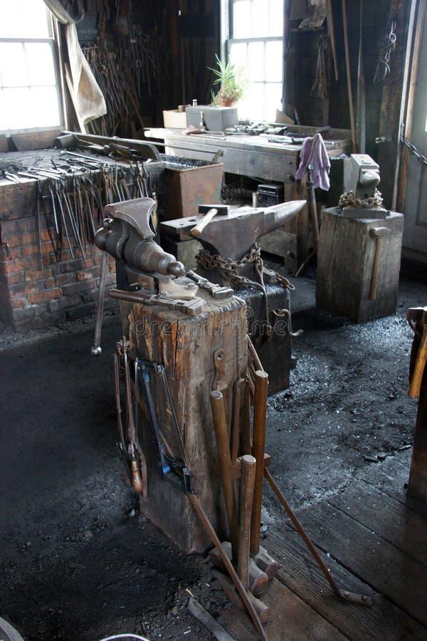 Narzędzia blacksmith obraz royalty free