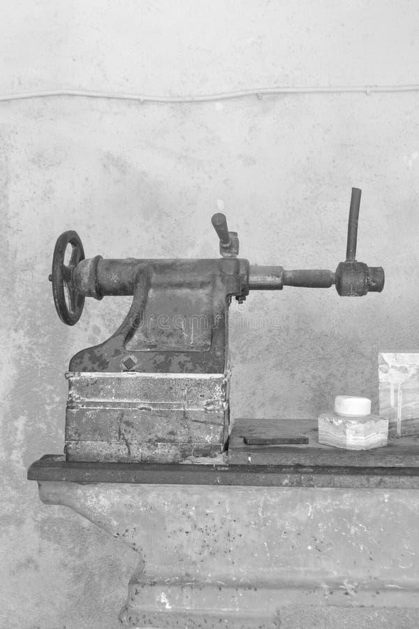 Narzędzia dla produkci pamiątki robić onyks zdjęcie stock