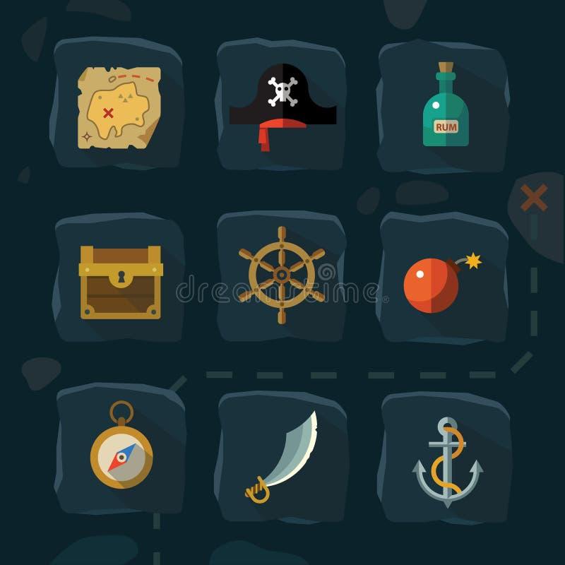 Narzędzia i materiały dla naprawy royalty ilustracja