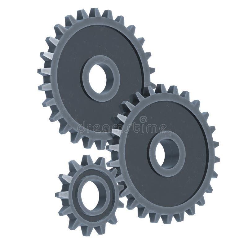 Narzędzia Koncepcja maszyny do technologii mechanicznej ilustracji