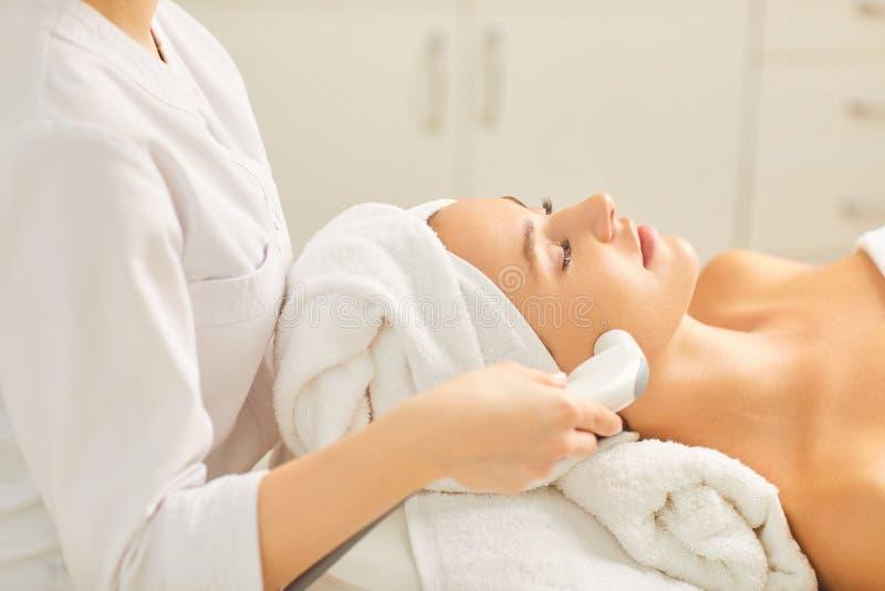 Narzędzia kosmetologia Kosmetologii kierownicza procedura obrazy stock