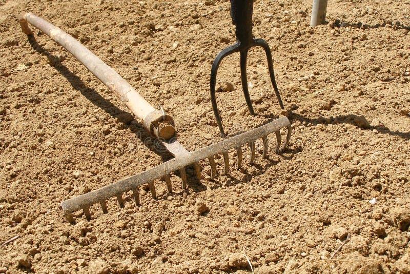 narzędzia ogrodnicze zdjęcie stock