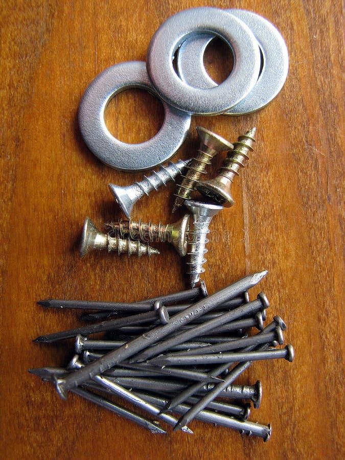Narzędzia sklep Żelazny płuczki tekstury tło zdjęcie stock