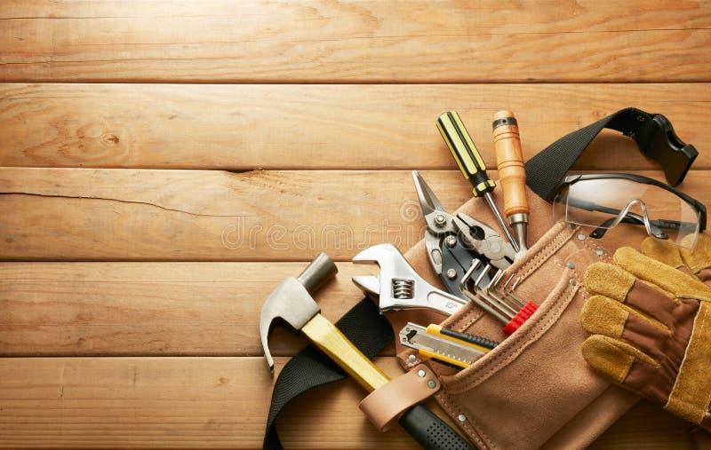 Narzędzia w narzędzie pasku obrazy stock